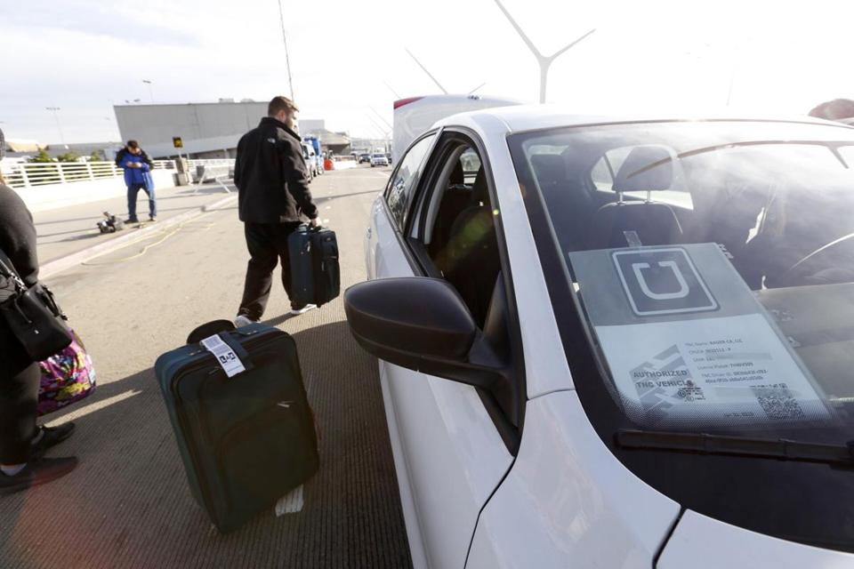 UberX cars are charged $4 for each pickup and each drop-off at Los Angeles International Airport.