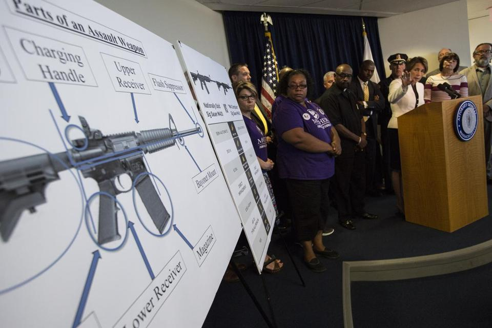 Massachusetts Attorney General Maura Healey outlined steps Wednesday to crack down on the state's assault weapons ban.