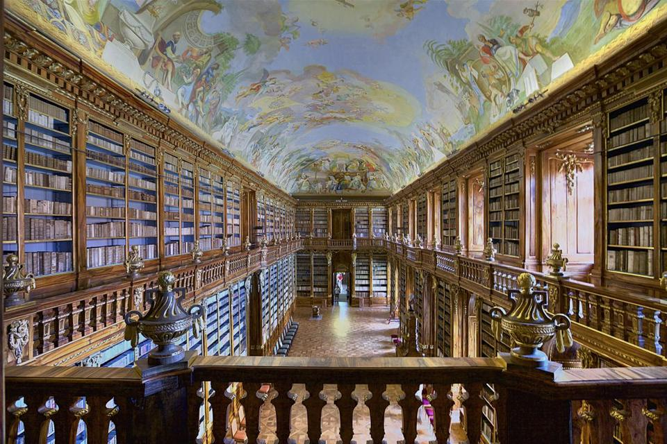 The National Library of the Czech Republic in Prague.