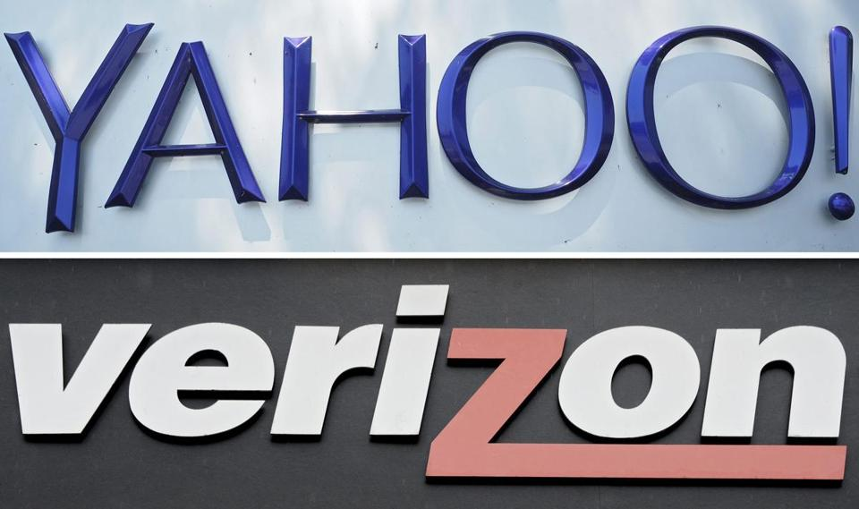 By agreeing to buy Yahoo's Internet business, Verizon is tooling up for a future in which owning a vast broadband data network is not enough.