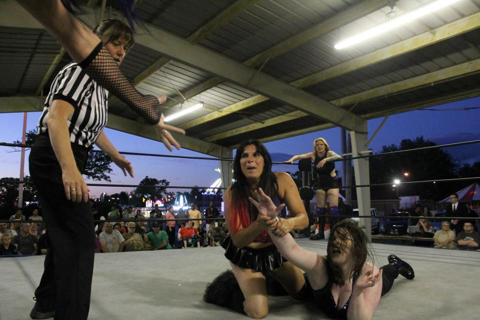 Private women wrestling matches opinion you
