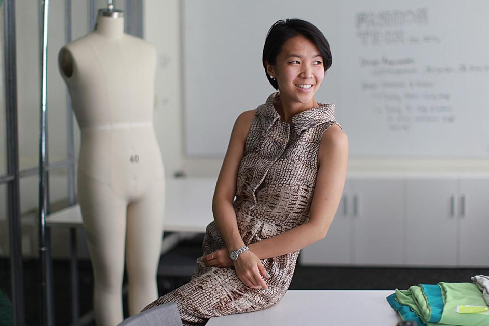 Cambridge, Ma., 07\27\16, FOR FIRST PERSON. Grace Jun at the Open Style lab at MIT. Suzanne Kreiter\Globe staff