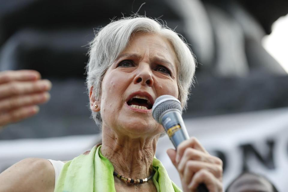Lexington physician Dr. Jill Stein is the presumptive Green Party presidential nominee.