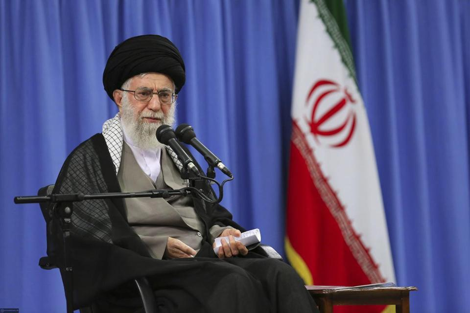 Iran's Supreme Leader Ayatollah Ali Khamenei spoke during a meeting in Tehran Monday saying that average Iranians have not seen any benefit from the nuclear deal with world powers.