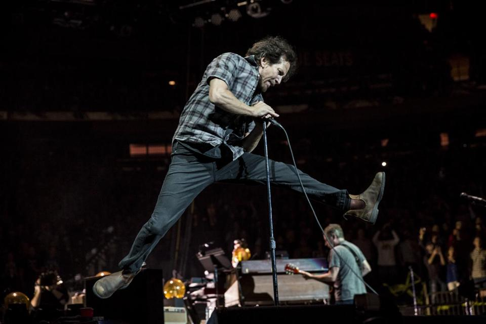 Eddie Vedder and Pearl Jam play Fenway Park Aug. 5 and 7.