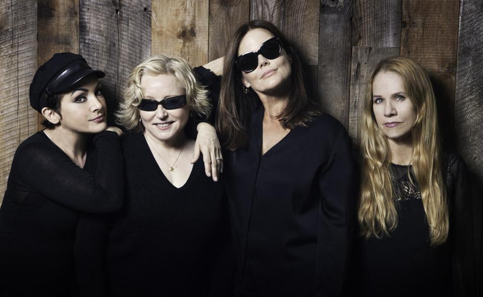 From left: Jane Wiedlin, Gina Schock, Belinda Carlisle, and Charlotte Caffey of the Go-Go's.