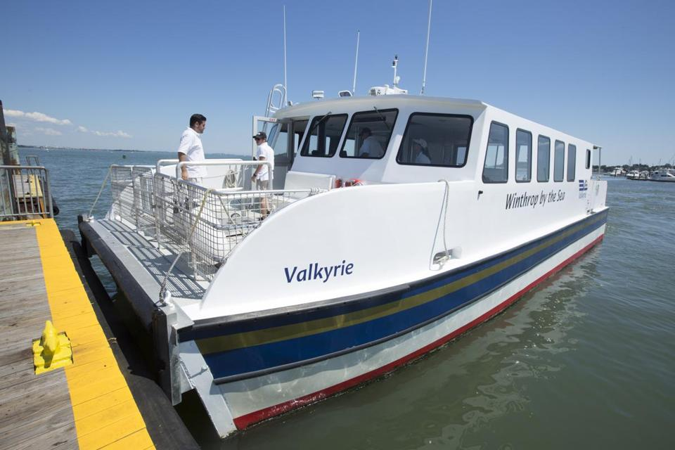 Ferry service between Marina Bay in Quincy and Boston resumes Monday.