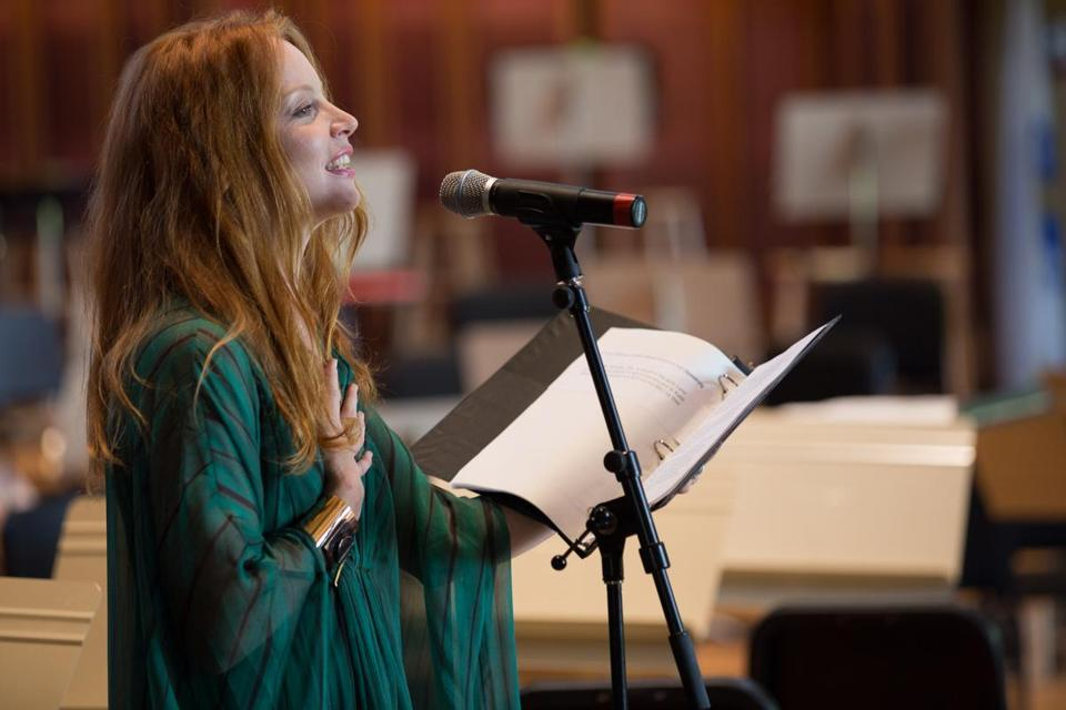 Lauren Ambrose emceed the BU Tanglewood Institute's 50th anniversary celebration.