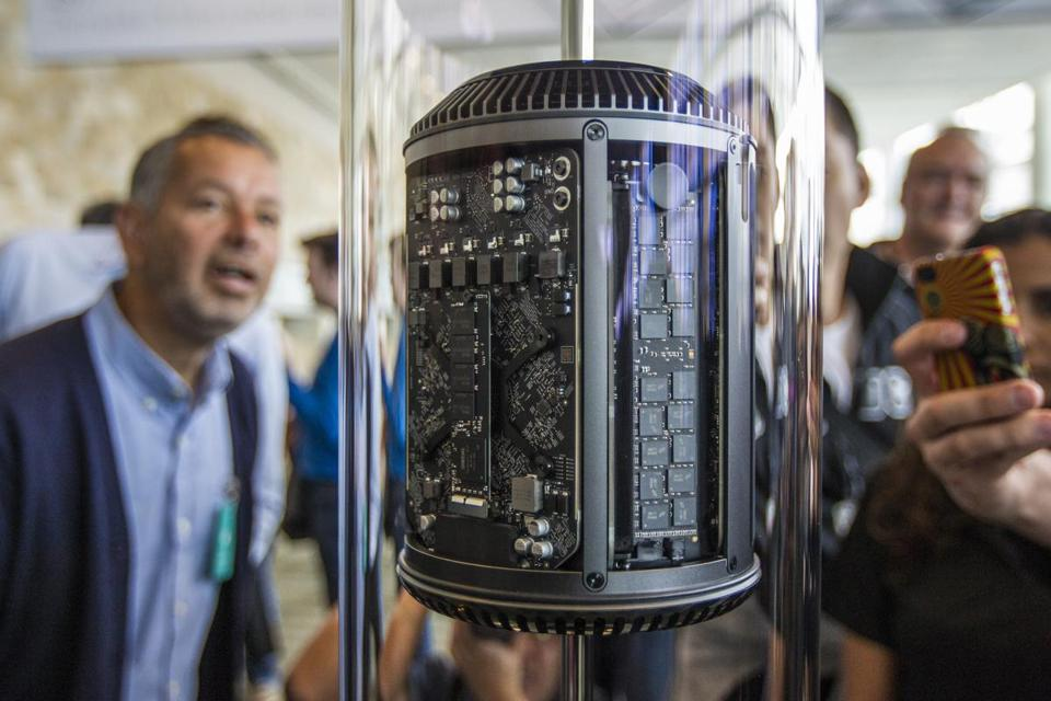 Apple hasn't updated the Mac Pro since 2014.