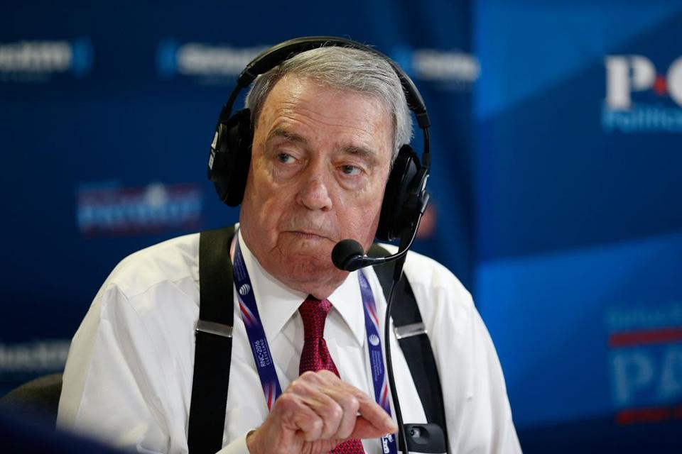 "Dan Rather recorded an episode of his satellite radio show, ""Dan Rather's America,""  in Cleveland  last month."
