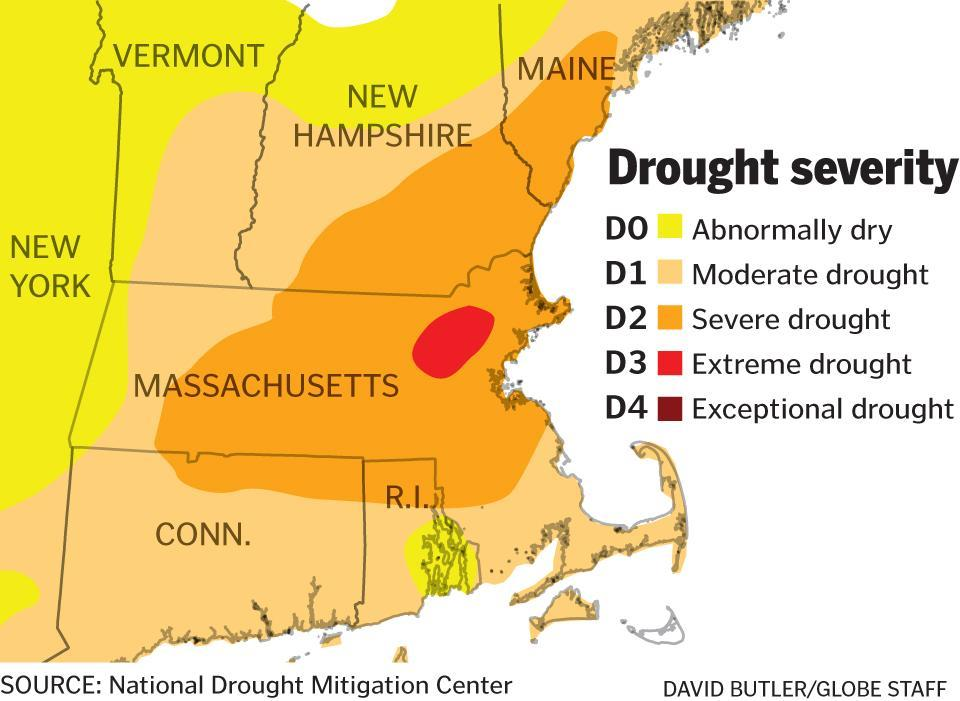 Another Week Another Upgrade In The Mass Drought The Boston Globe