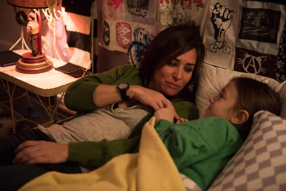 "Pamela Adlon and Olivia Edward in FX's ""Better Things."""