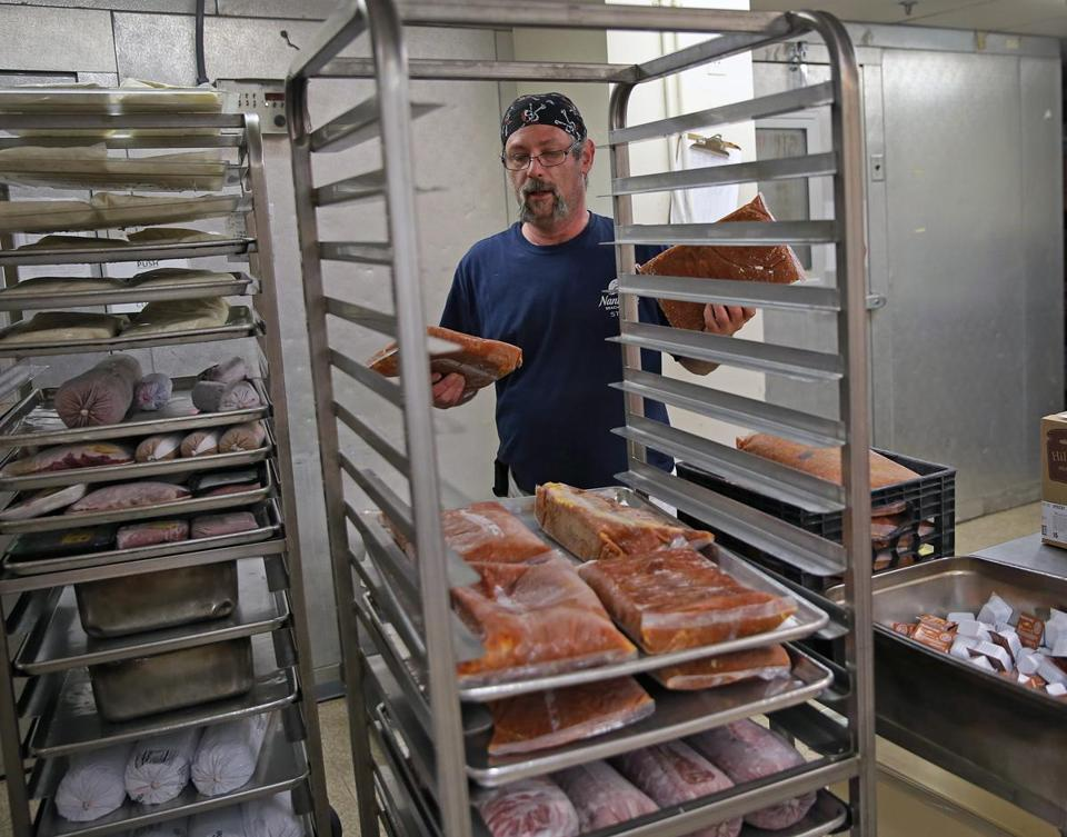 St. Francis House chef Seth Green looks to get maximum value out of donated foods.