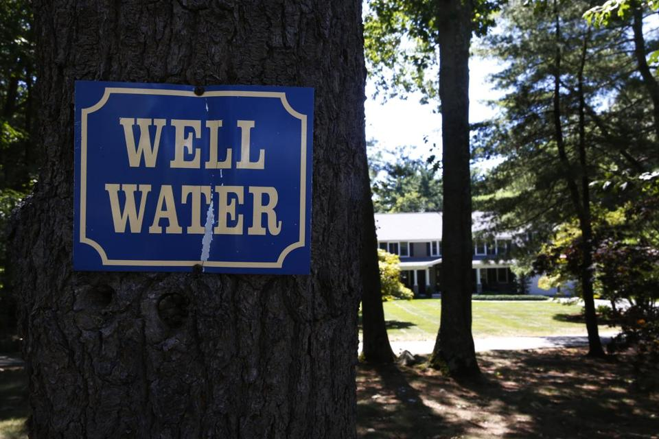 "Some people put up ""well water"" signs so they can blast their sprinklers without drawing nasty scowls from neighbors."