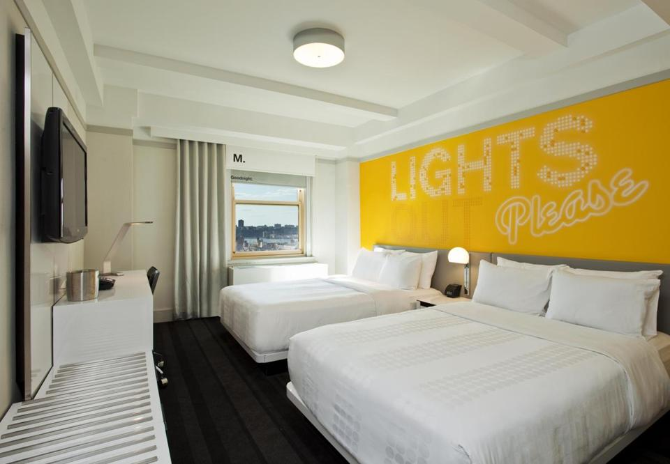 Rooms: Check In: Row NYC