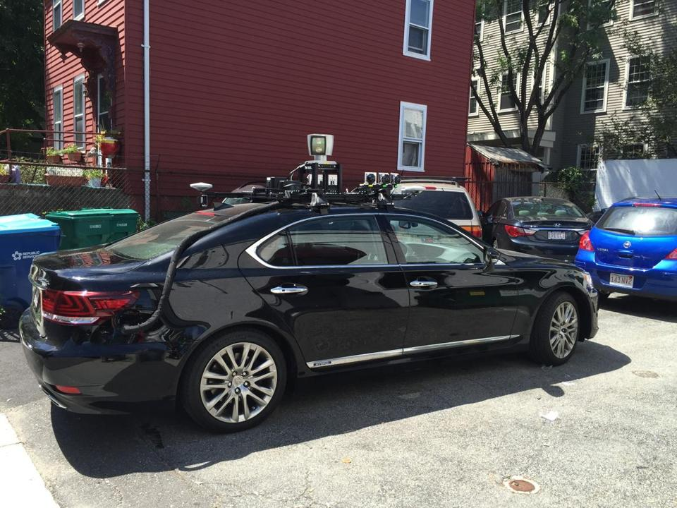Was That Black Lexus In Kendall Square A Self Driving Car