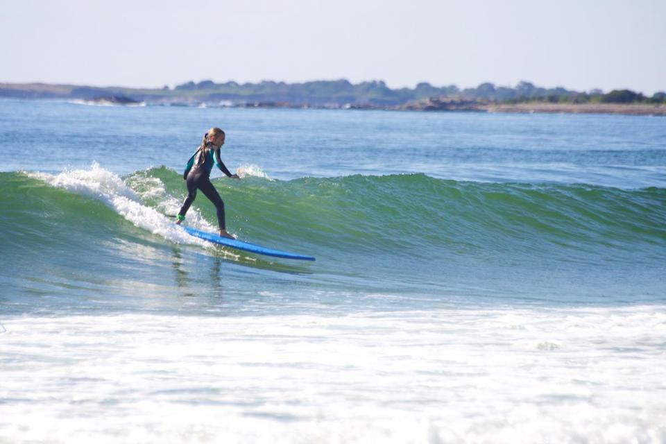 Surf Camp Maine offers a Fall Surfing program for kids 12 to 16 years old.