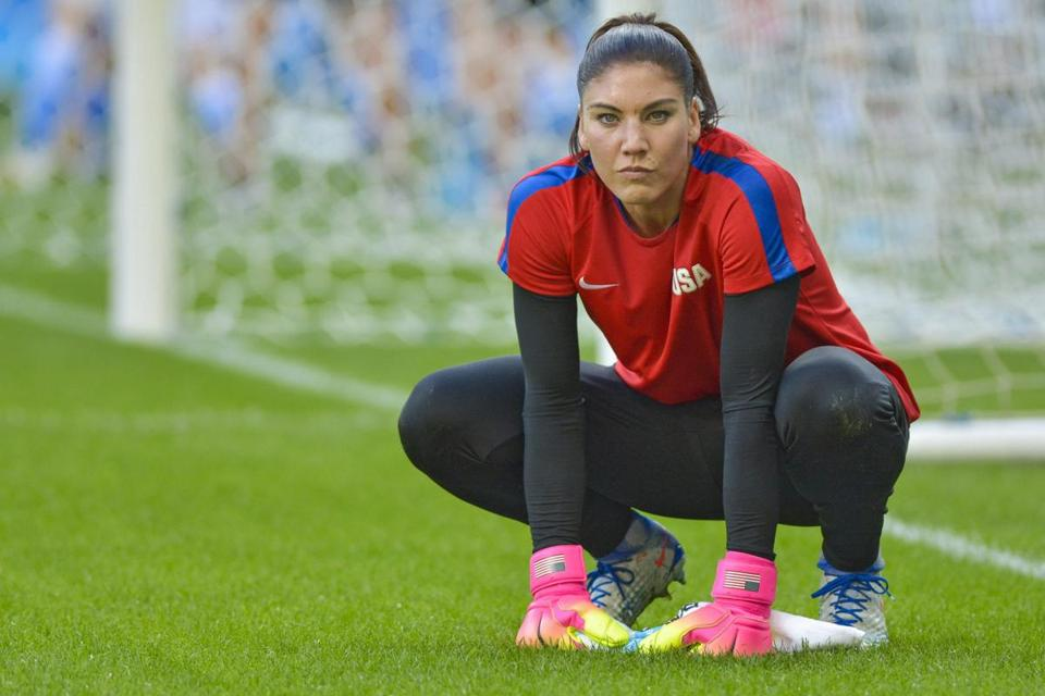 Hope Solo Steps Away From Professional Soccer - The Boston -6353