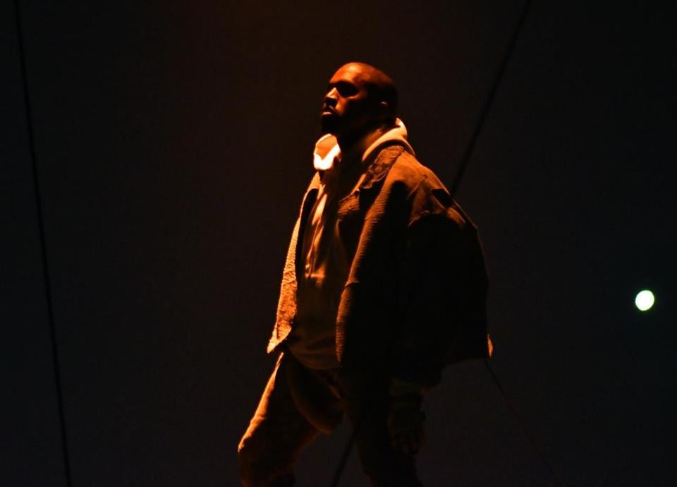 Kanye West Performed Saturday Night At TD Garden. Images