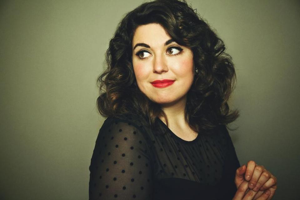 """In Boston I learned how to be tough and the power of an actual joke, a written joke, not just rambling and ranting, says Jenny Zigrino. ""I think that's why so many great people come out of Boston. It's just such a good incubator for comedy."""
