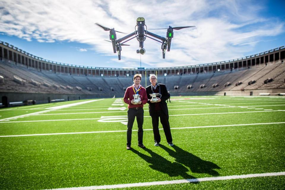"Last year's HUBweek featured an event titled ""Making Robotics Fly."""