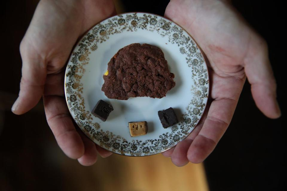 Barbie deJager, who suffers from back pain, starts each day with a few nibbles of a marijuana cookie.