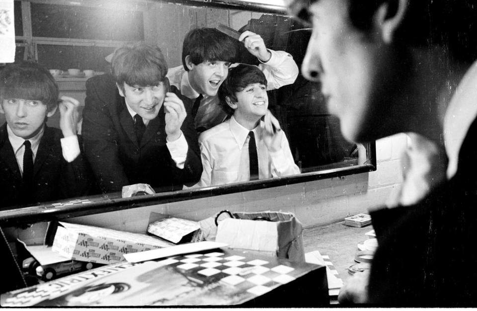 "The Beatles in Coventry, England, in November 1963, from Ron Howard's ""Eight Days a Week  — The Touring Years."""