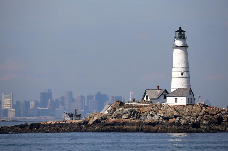 Boston Light was originally built in 1716 and has been around longer than the nation itself.