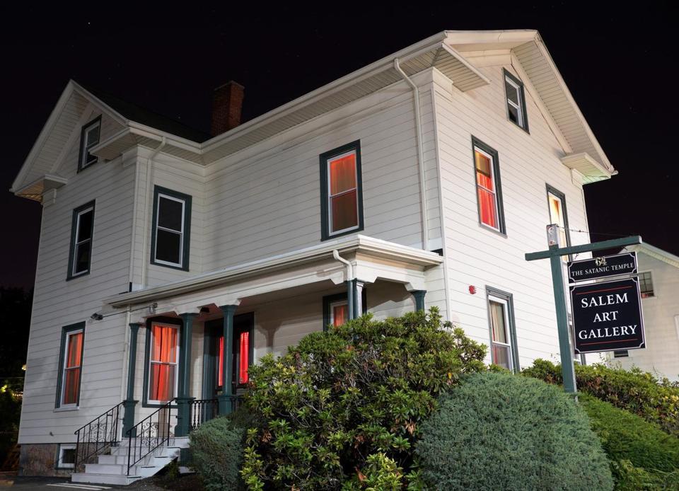 Satanic Headquarters Hopes For Quiet Opening In Salem The Boston Globe