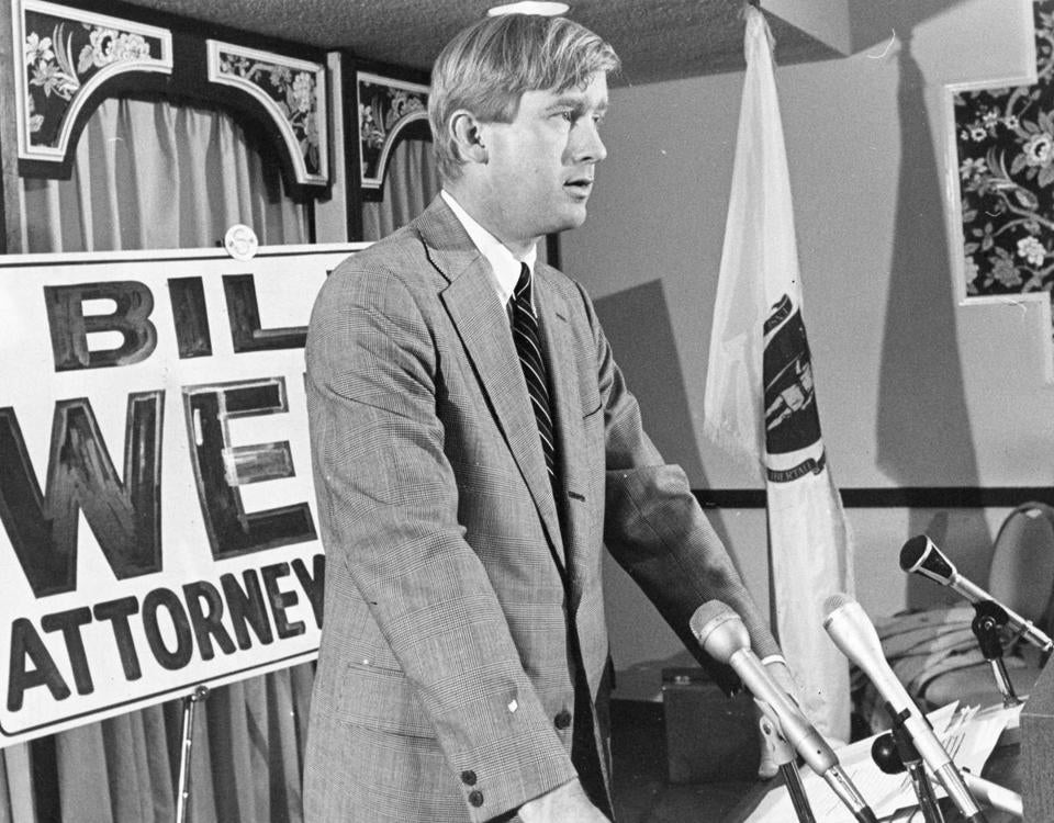 Running for Massachusetts attorney general in 1978, Weld got 22 percent of the vote.