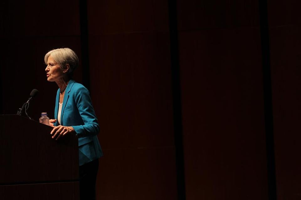 Green Party presidential candidate Jill Stein is calling for a recount in three key states; Wisconsin, Michigan, and Pennsylvania.