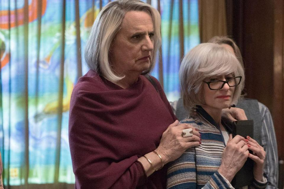 "Jeffrey Tambor (left) and Judith Light in ""Transparent."""