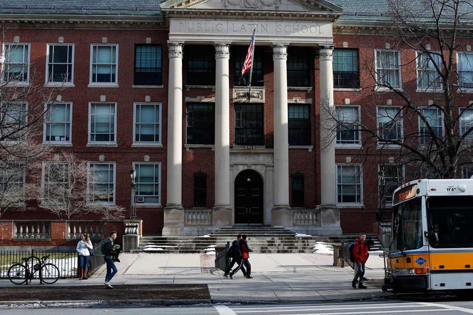 US Attorney Carmen M. Ortiz called for sweeping reforms at Boston Latin School after the report was issued.