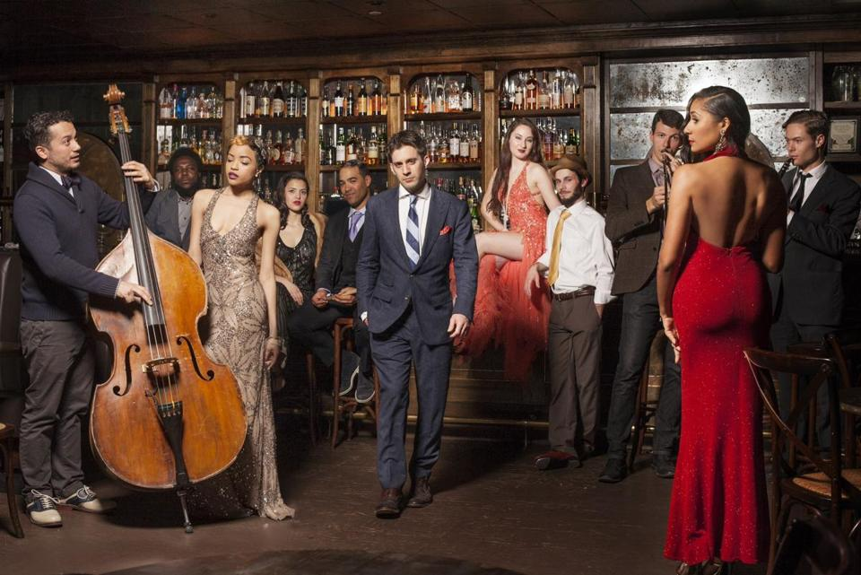 "Scott Bradlee and his Postmodern Jukebox band, which plays modern hits — such as Meghan Trainor's ""All About That Bass"" — recast in ragtime, doo-wop styles or other vintage styles"