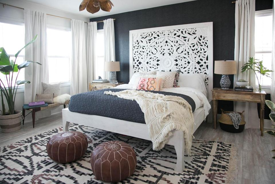 A Bedroom Designed By Decorist Interior Designer Ashley Redmond