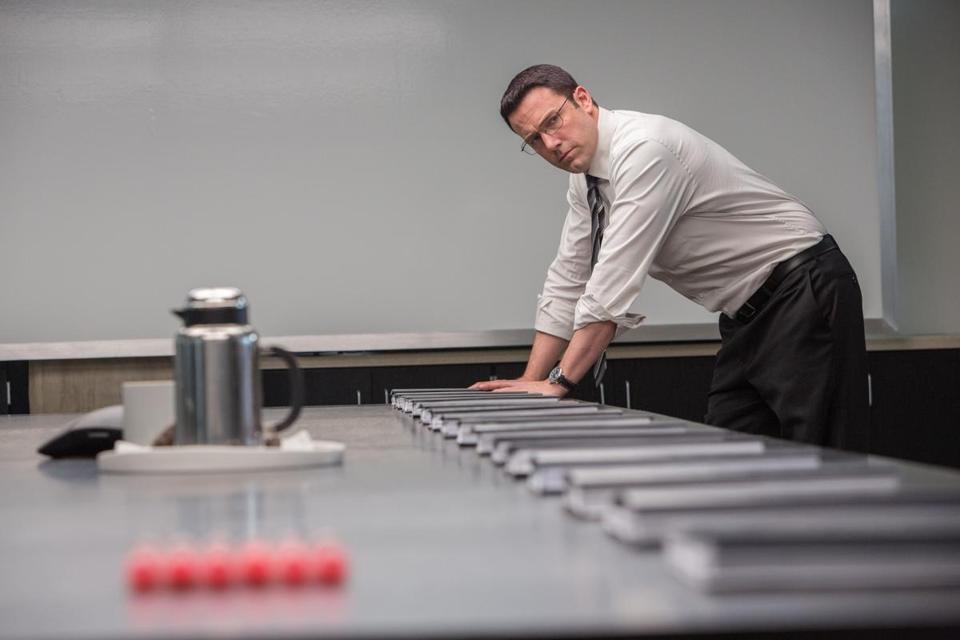 ben affleck in a scene from the accountant ben office fan