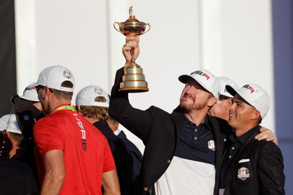 Us Dominates Singles Matches To Reclaim Ryder Cup The Boston Globe