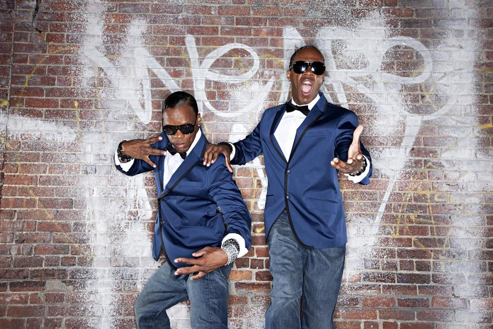 Bobby and Billy McClain have performed hip-hop dance for 30 years as the Wondertwins.
