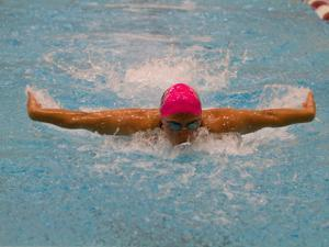 Margaret Guo was a five-time Division 3 All-American in the pool at MIT.