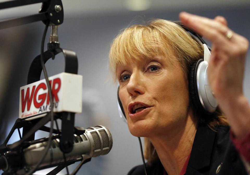 Governor Maggie Hassan of New Hampshire, during a recent radio interview.