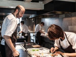 Daniel Giusti was chef de cuisine at Noma in Copenhagen, where the food earns two Michelin stars.
