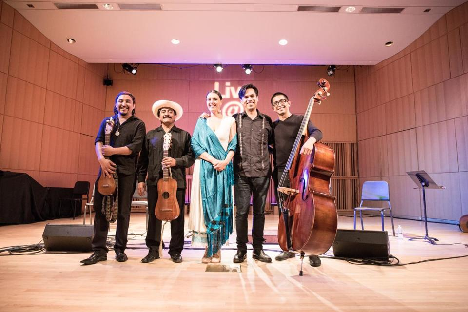 New York-based Radio Jarocho will perform at the Villa Victoria Center for the Arts on Nov. 4.