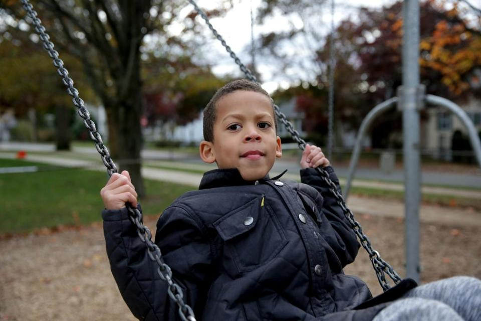 """It's a completely different environment,"" Ceide said of her son's current school, Forestdale."