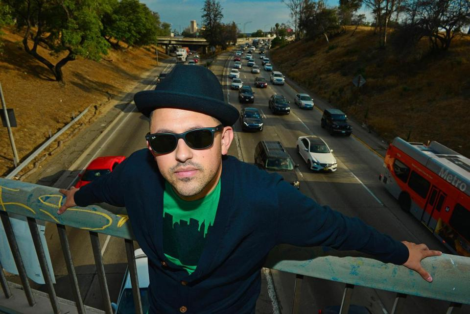 "Xavi Moreno is one of the people you meet in the documentary ""East LA Interchange."""