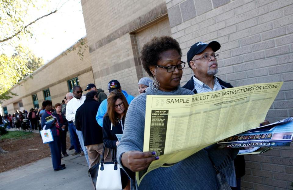 Critics say these efforts constitute ballot box discrimination ...