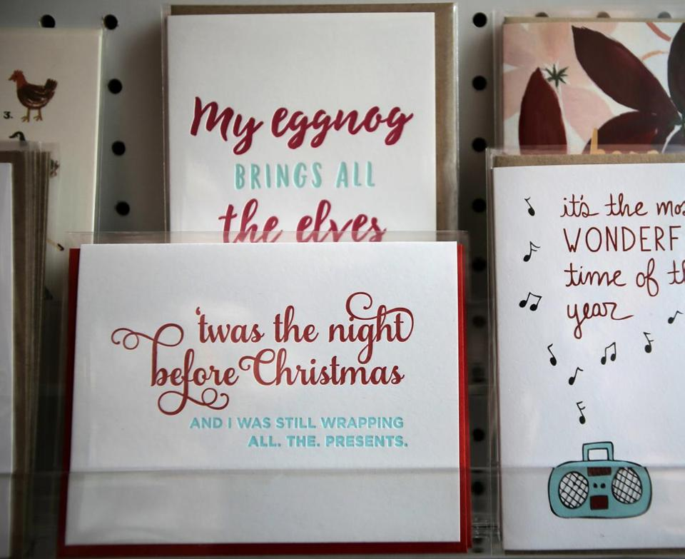 This holiday season, buy a card and mail it - The Boston Globe