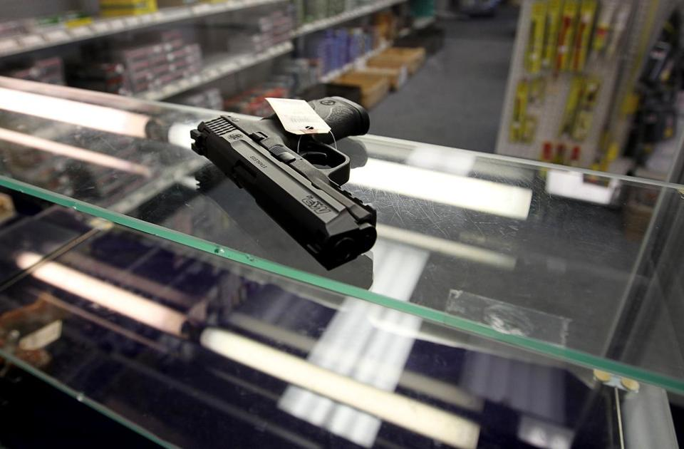 A Smith & Wesson pistol was on sale in North Attleborough.
