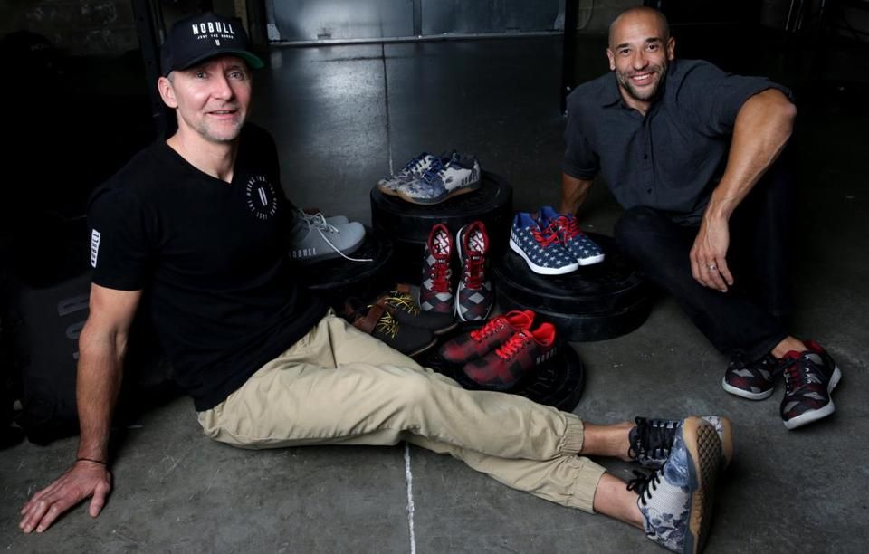 6c311ca31c2 Michael Schaeffer (left) and Marcus Wilson founded NOBULL footwear company.