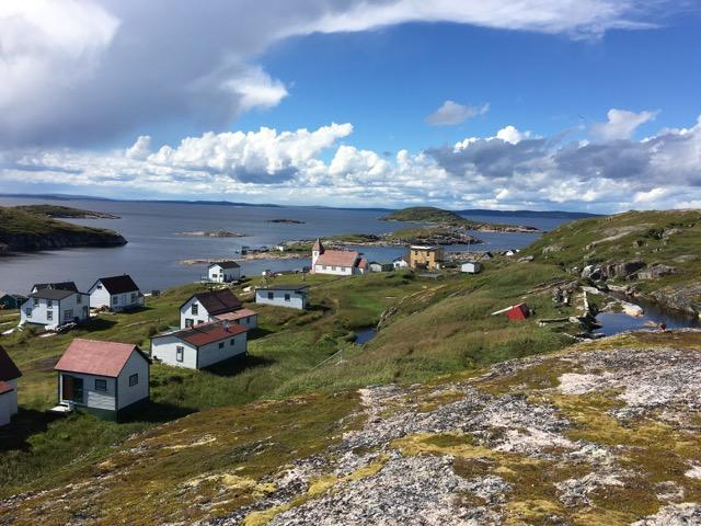 A view of Battle Harbor in Labrador. The fishing village dates back to the 1700s.