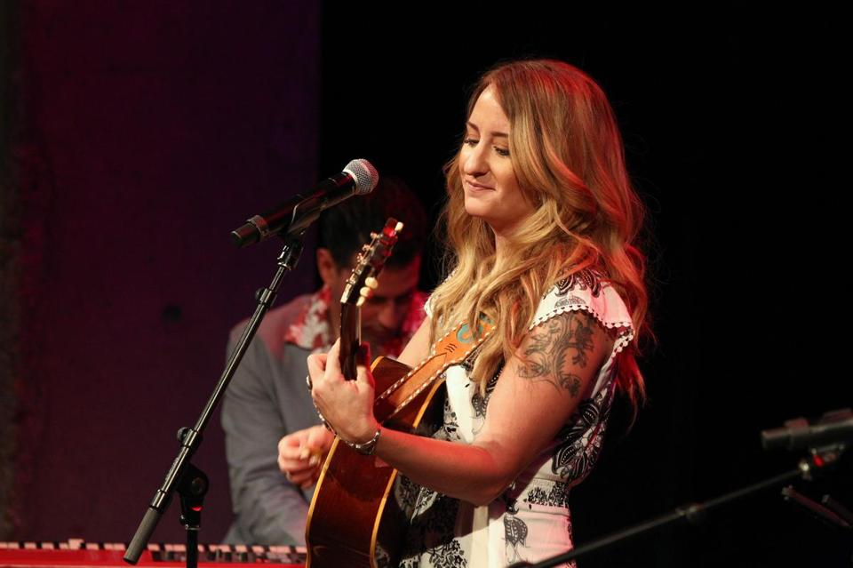 Margo Price performed during a concert at the Country Music Hall of Fame and Museum in September.